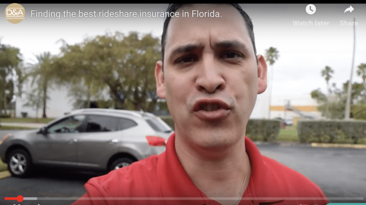 Finding the best rideshare insurance in Florida