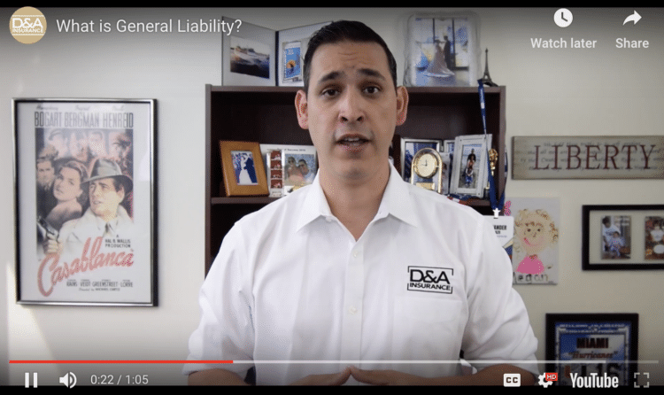 What is General Liability?